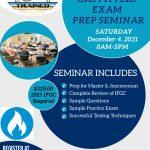 Alabama Gas Fitters Exam Prep Seminar December 4, 2021