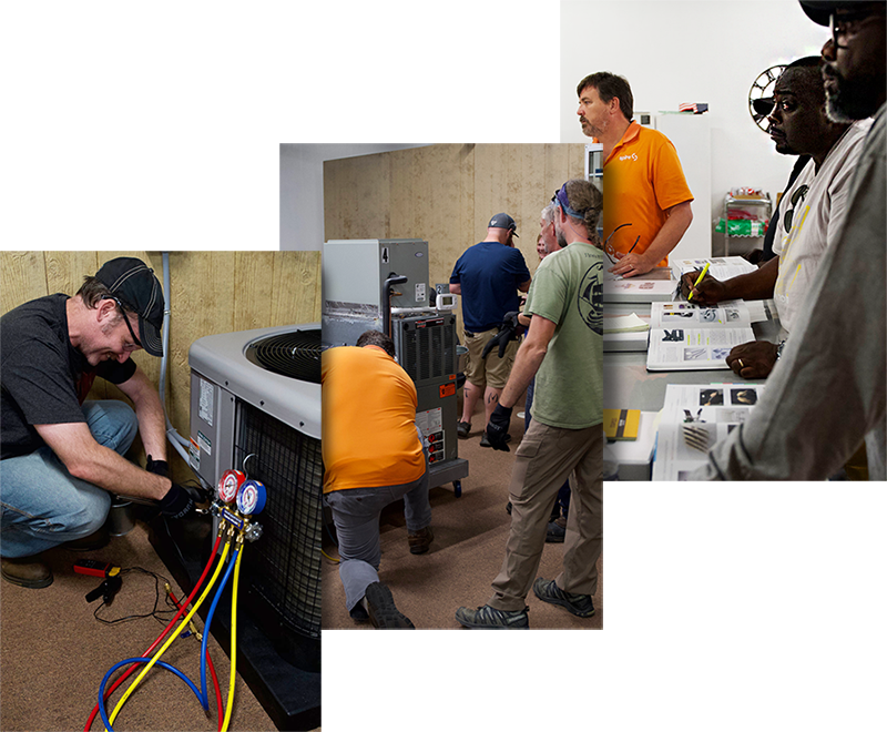 Classes Training for HVAC